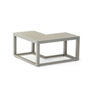 Šedý hliníkový konferenční zahradní stolek Ezeis Spring L