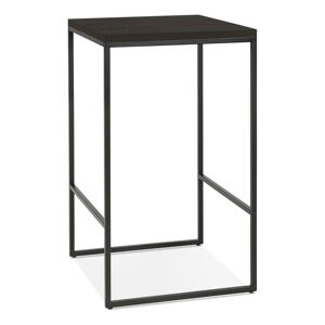 Černý barový stůl KokoonTikafe, výška 105cm