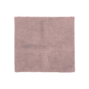 Růžová bavlněná koupelnová předložka Tiseco Home Studio Luca,60x60cm