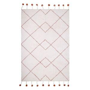 Bavlněný ručně vyrobený koberec Nattiot Natural,110x170cm