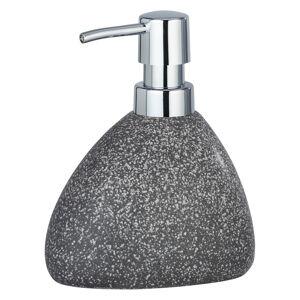 Šedý keramický dávkovač na mýdlo Wenko Pion