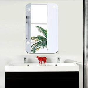 Zrcadlová adhezivní samolepka Ambiance Rectangle, 42 x 27 cm