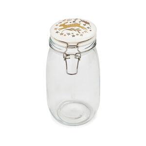 Skleněná dóza s kameninovým víčkem Cooksmart ® Woodland,1,5l