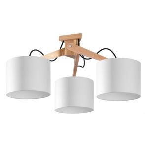 Bílé stropní svítidlo Nice Lamps Donna,délka70cm